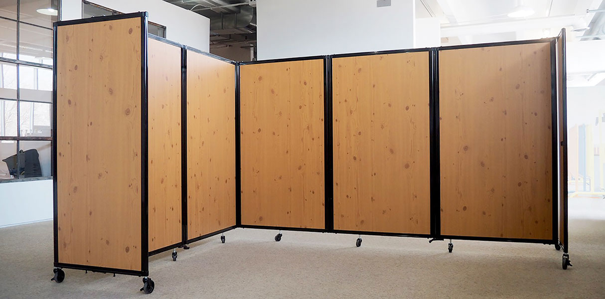 folding doors and room dividers | portable partitions | movable walls