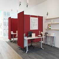 Screenflex Wallmount Room Dividers