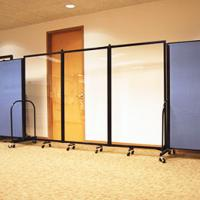 Screenflex Portable Room Dividers Folding Doors and Room Dividers