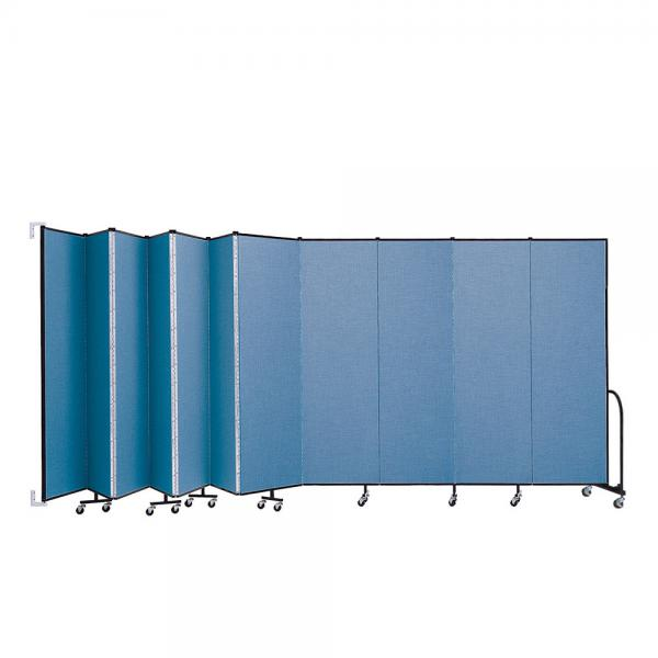 Screenflex Wallmount Room Dividers (11 Panels)