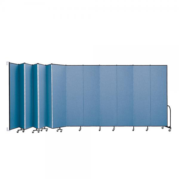 Screenflex Wallmount Room Dividers (13 Panels)