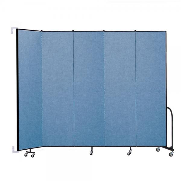 Screenflex Wallmount Room Dividers (5 Panels)