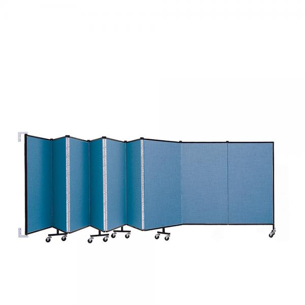 Screenflex Wallmount Room Dividers (9 Panels)