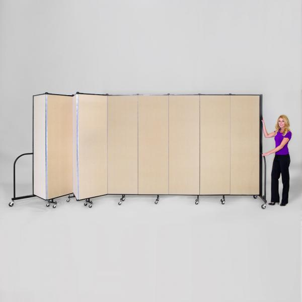 9 Panel Freestanding Room Divider