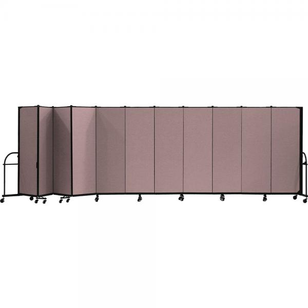 Screenflex Heavy Duty Room Dividers (11 Panels) - Rose