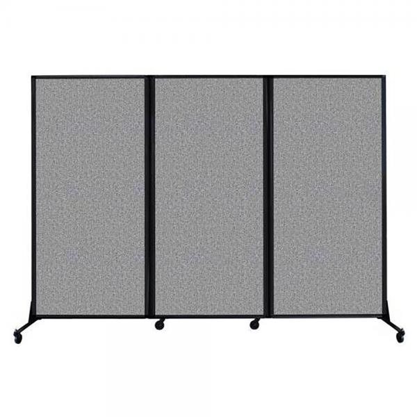 Versare Quick Wall Portable Partition Folding Room Divider Space