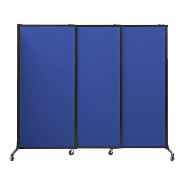 Quick Wall Portable Partition Sliding Room Divider Space