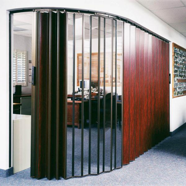 Woodfold S-440 Visifold See-Through Accordion Doors