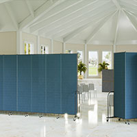 Screenflex Freestanding Room Dividers (9 Panels)