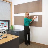 View: Screenflex Acoustical Wall Panels
