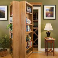 Woodfold Custom Bookcase Doors