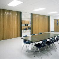 View: Woodfold Series 240H: Natural Hardwood Finish